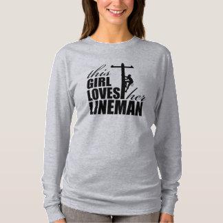 This Girl Loves Her Lineman Women's Long Sleeve T-Shirt
