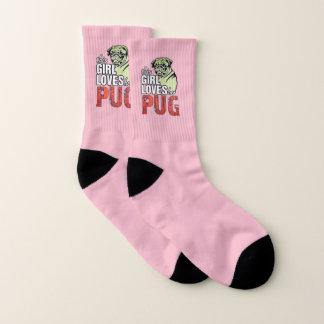 This Girl Loves Her Pug Socks