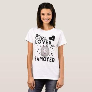 This Girl Loves Her Samoyed T-Shirt