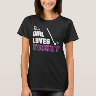 This Girl Loves Hockey T-Shirt