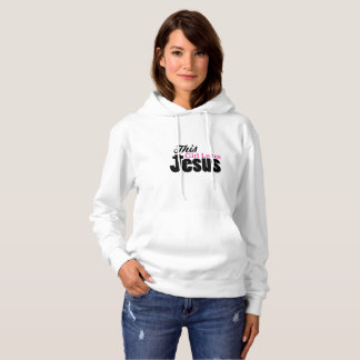 This Girl Loves Jesus Christian Hoodie