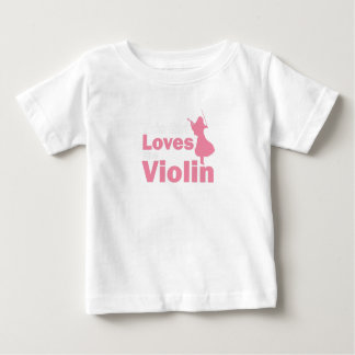 This Girl Loves The Violin Gift Baby T-Shirt