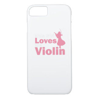 This Girl Loves The Violin Gift iPhone 8/7 Case