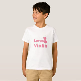 This Girl Loves The Violin Gift T-Shirt