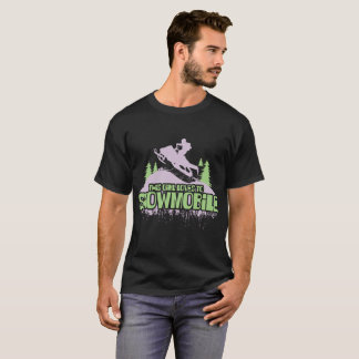 This Girl Loves To Snowmobile T-Shirt