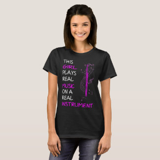 This Girl Plays Real Music Instrument Bassoon Tees