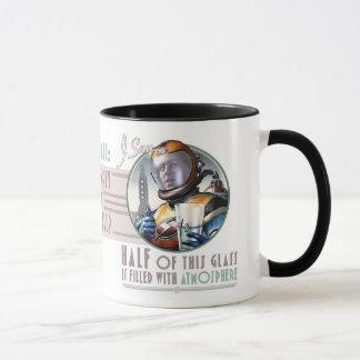This Glass is Half Full of Atmosphere Mug