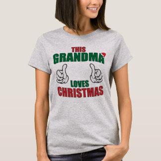 This Grandma Loves Christmas! T-Shirt