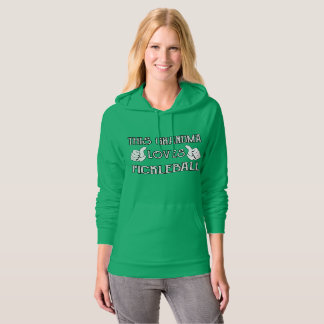 This Grandma Loves Pickleball Hoodie