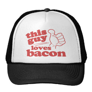 This Guy Loves Bacon Trucker Hat