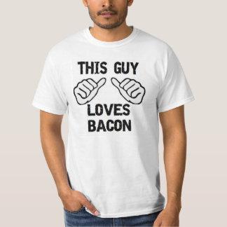 This Guy Loves Bacon Tshirt