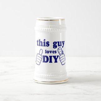 This Guy Loves DIY Beer Stein