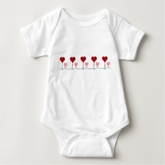 This Heartbeat is For You Baby Bodysuit