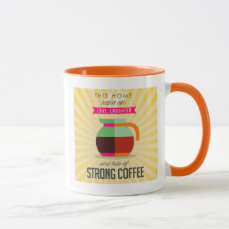 This Home Runs on Love Laughter and Lots of Coffee Mug