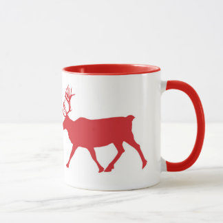 'This House Believes' Red Reindeer Mug