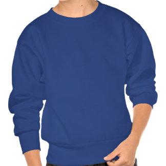 This Human Belongs To A Weimaraner Pullover Sweatshirt
