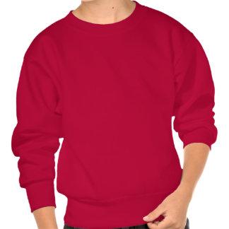 This Human Belongs To A Weimaraner Pullover Sweatshirts