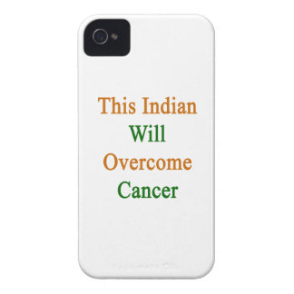 This Indian Will Overcome Cancer iPhone 4 Cases