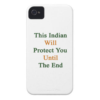This Indian Will Protect You Until The End iPhone 4 Cases