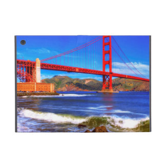 This is a 3 shot HDR image of the Golden Gate Covers For iPad Mini