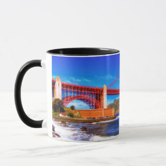 This is a 3 shot HDR image of the Golden Gate Mug