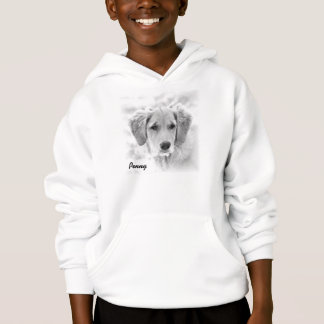 This is a Large Youth Size Penny Hoodie.