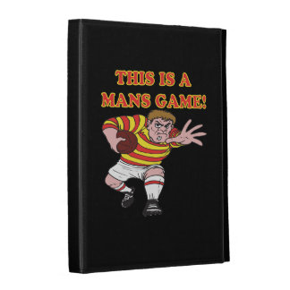 This Is A Mans Game iPad Folio Covers