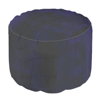 This is a Purple Round Pouf. Pouf