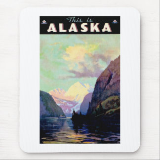 This is Alaska Mouse Pad
