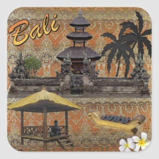 This Is Bali Square Sticker