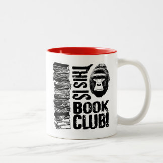 This Is Book Club! Two-Tone Coffee Mug