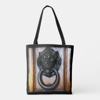 This is Campbell CA, Historic Ansley House Knocker Tote Bag