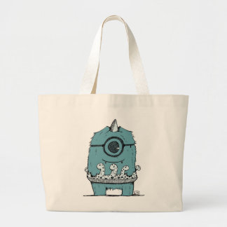 This Is Clyde's Favorite Floatie! Large Tote Bag