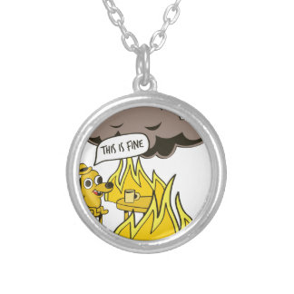 This is Fine Silver Plated Necklace