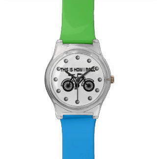 This Is How I Roll Bicycle Watch