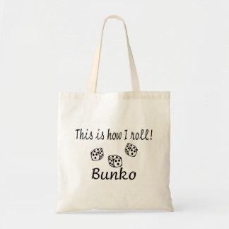 This Is How I Roll Bunko Tote Bag