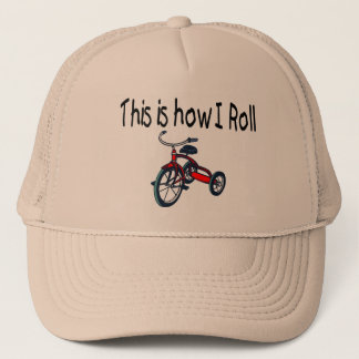 This Is How I Roll (Red Tricycle) Trucker Hat