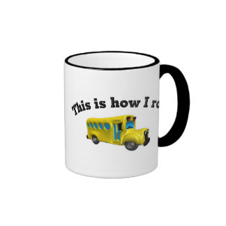 This is how I roll Ringer Coffee Mug