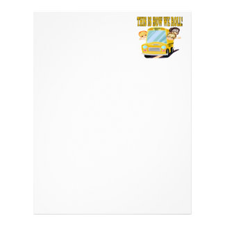 This Is How We Roll Personalized Letterhead