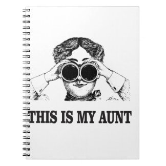 this is my aunt yeah notebook