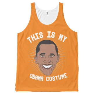 This is my Barack Obama Costume - Political Hallow All-Over-Print Tank Top