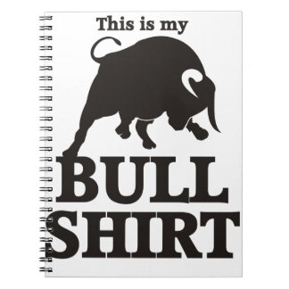 This is my Bull Shirt Notebook