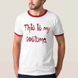 This Is My Costume Funny Halloween Shirt