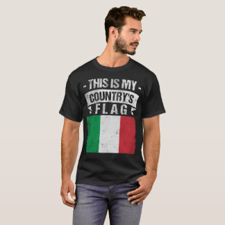 This is My Country's Flag Italian Flag Day T-Shirt