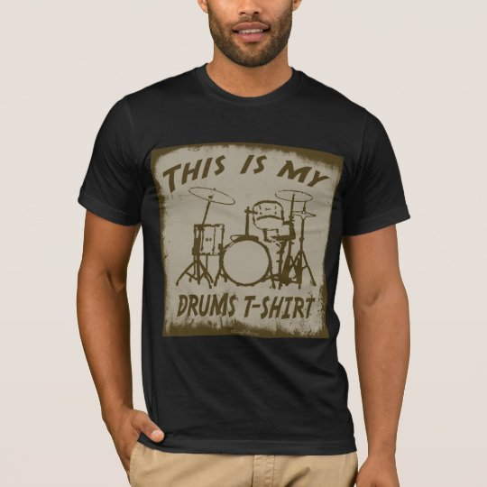 THIS IS MY DRUMS T-SHIRT