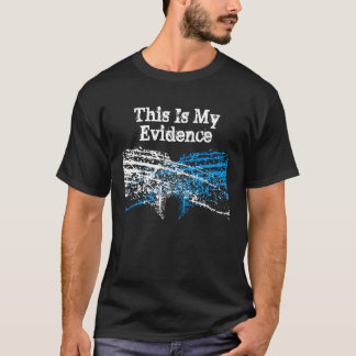 This Is My Evidence T-Shirt: InkBlott T-Shirt