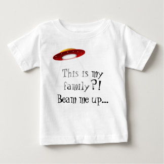 This is my family? Baby tee. Baby T-Shirt