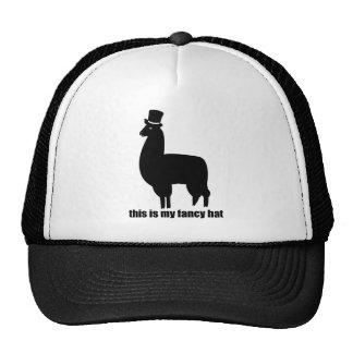This Is My Fancy Hat Llama
