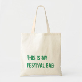 this is my festival bag
