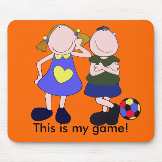 This is my game! mouse pad